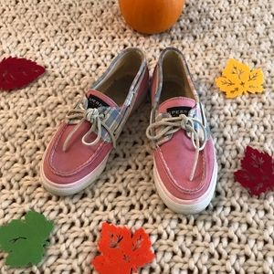 💕SPERRY TOP-SIDER💕 Pink shoes Size 6